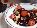 Ensalada de arroz negro