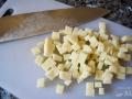 Cortar los ingredientes