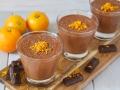 Mousse de chocolate a la naranja