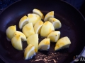 Saltear el limón