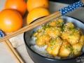 Pollo a la naranja estilo chino