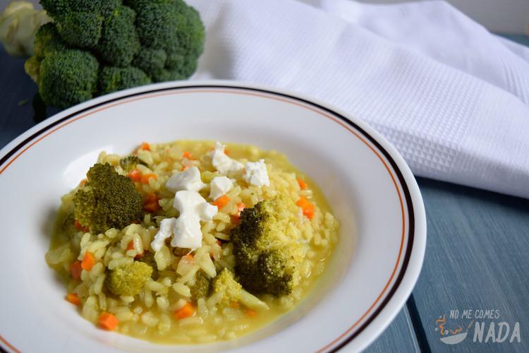 Risotto-de-brócoli-y-queso-de-cabra