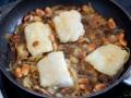 Cocinar con le bacalao