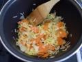 Pochar verduras