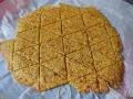 Crackers horneados
