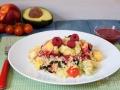 Ensalada de quinoa y frutos rojos