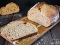 Pan integral de espelta y cerveza negra