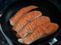 Hacer el salmón a la plancha