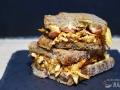 Sandwich de pollo barbacoa