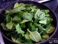 Cocinar las espinacas