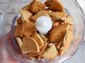 Triturar las galletas