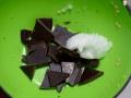 Derretir chocolate con aceite