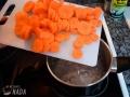Cocer las zanahorias